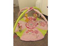 Baby musical activity mat