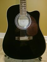 GREAT CONDITION HOFNER ACOUSTIC/ ELECTRIC  GUITAR