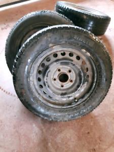 """15"""" Honda steel rims"""