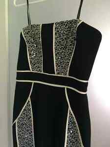 Strapless dress- size small