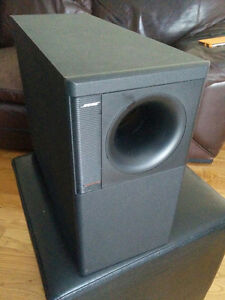 BOSE AM-7 ACOUSTIMASS Speakers and BOSE FS-6 FLOORSTANDS   PLEAS Kitchener / Waterloo Kitchener Area image 4