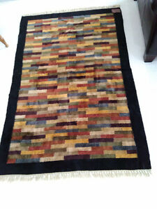 Soft cotton rug