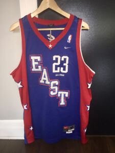 Lebron James #23 Cleveland Cavaliers East All Star Jersey (M)