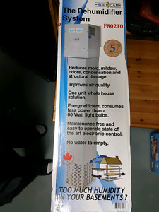 Home dehumidifier unit