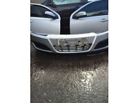 Astra h front bumper