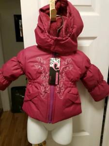 New tags still on size 12months girls winter coat