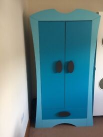 Blue IKEA wardrobe PLUS more! £99
