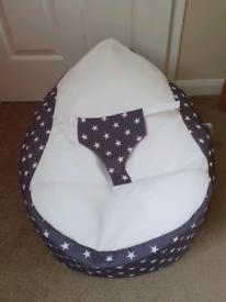 RU comfy baby bean bag