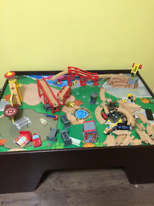 Kidkraft Capital City Train Table and Set