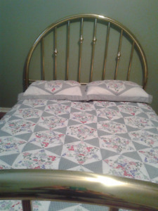 """Beautiful Brass Queen Size Bed Frame"