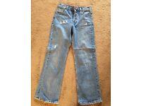"Boys jeans. Boys jeans 27"". Jeans."