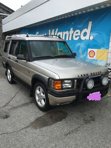 2000 Land Rover Discovery SE7  Mech special