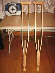 Wooden Crutches....Like New condition. only $20.00