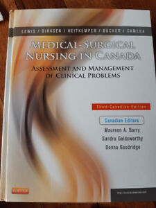 RN/RPN Text Books: Medical Surgical Nursing in Canada