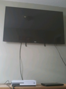 "TRADE Xbox one s and 55""RCA 4K TV"