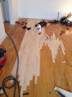 Floor sanding start from 1,25$ pi2 Service A+