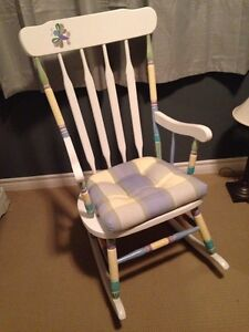 Rocking chair. Great for nursery.