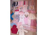 Huge baby girl clothes bundle