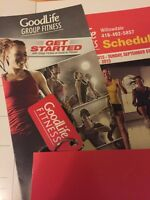 Sell the goodlife fitness membership card