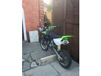 2005 small wheel kx85 just had full engine rebuild