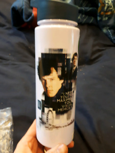 Assorted Sherlock bbc glasses mugs