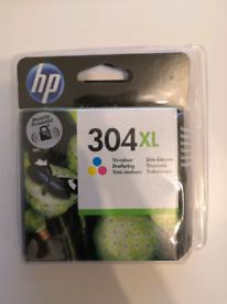 HP ink 304XL tricolour
