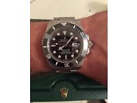 Rolex submariner SWISS box and papers ..collect or post
