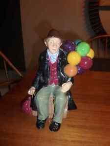 """Royal Doulton """"The Old Balloon Seller"""" & """"The Balloon Man"""" London Ontario image 4"""