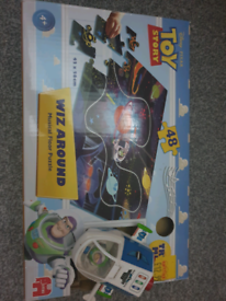 Toy Story puzzle with wind up Buzz