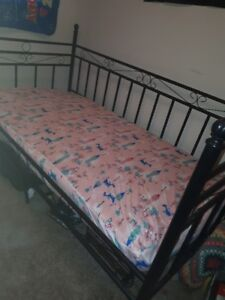 day bed with mattress. urgent