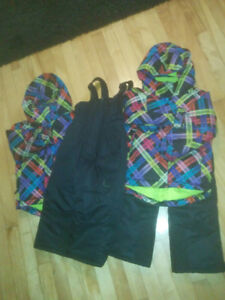 Size 4T Unisex Snow Suits. $25 each or both for $40