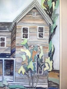 "Original Watercolor by Barbara Smith ""Rural Ontario - #1"" Stratford Kitchener Area image 4"
