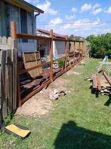 Renos, home renovations, fences decks and windows  London Ontario image 4