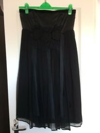 Black occasion/party dress size 14
