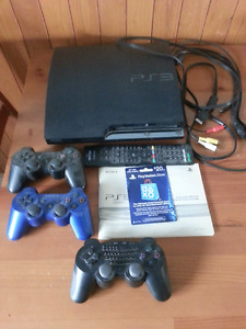 Sony PS3 console and games
