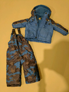 Oshkosh boys snowsuit 2T