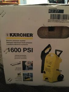 NEW Karcher Electric Pressure Washer 1600 PSI