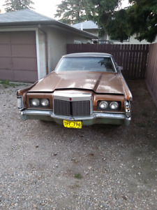 1970 lincoln continental 2dr 460 + parts car
