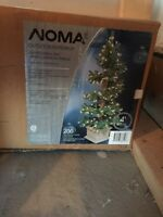Brand New, 2 - 4ft Spiral Christmas Trees