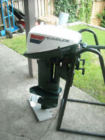 10 hp evinrude outboard with parts engine
