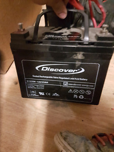 Discover Sled battery