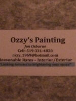 Ozzy's Painting