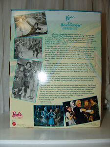 The Wizard of OZ NIB Barbie Doll, 1996 Ken as Scarecrow St. John's Newfoundland image 8