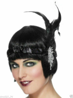 Roaring 20s Headpieces (ROARING 20s Gatsby Party Costume Hair ACCESSORY FLAPPER HEADBAND)