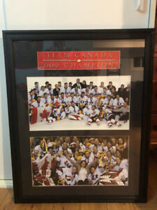 2002 Canadian Olympic Double Gold Hockey Print