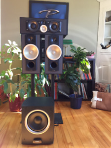 PARADIGM / Yamaha home theater or stereo system