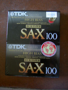 Audio Cassettes New Factory Sealed MAXELL / BASF / TDK / 90/100m West Island Greater Montréal image 3