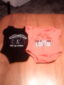 2onsies from spencers 3-6mths both for $5