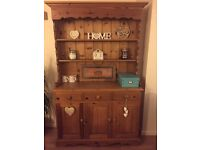 Solid Pine Farmhouse Dresser / Sideboard