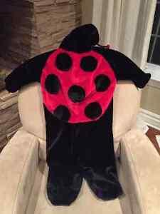 Costume d'Halloween coccinelle 3-6ans